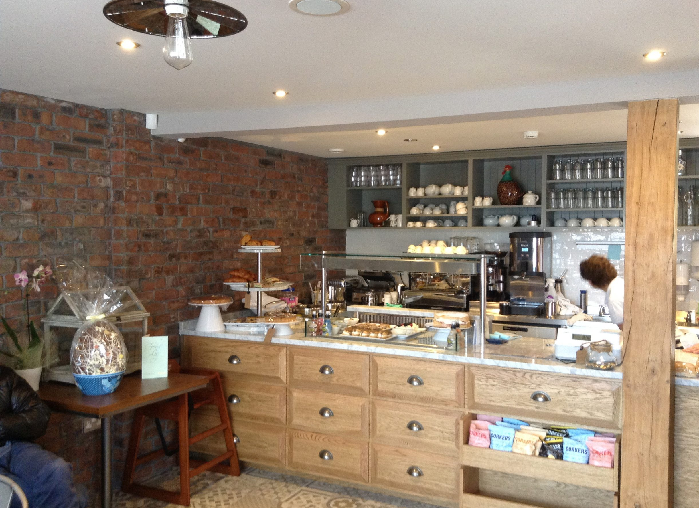 the kitchen, carrbridge, Cafe Restaurant interior design and fit out