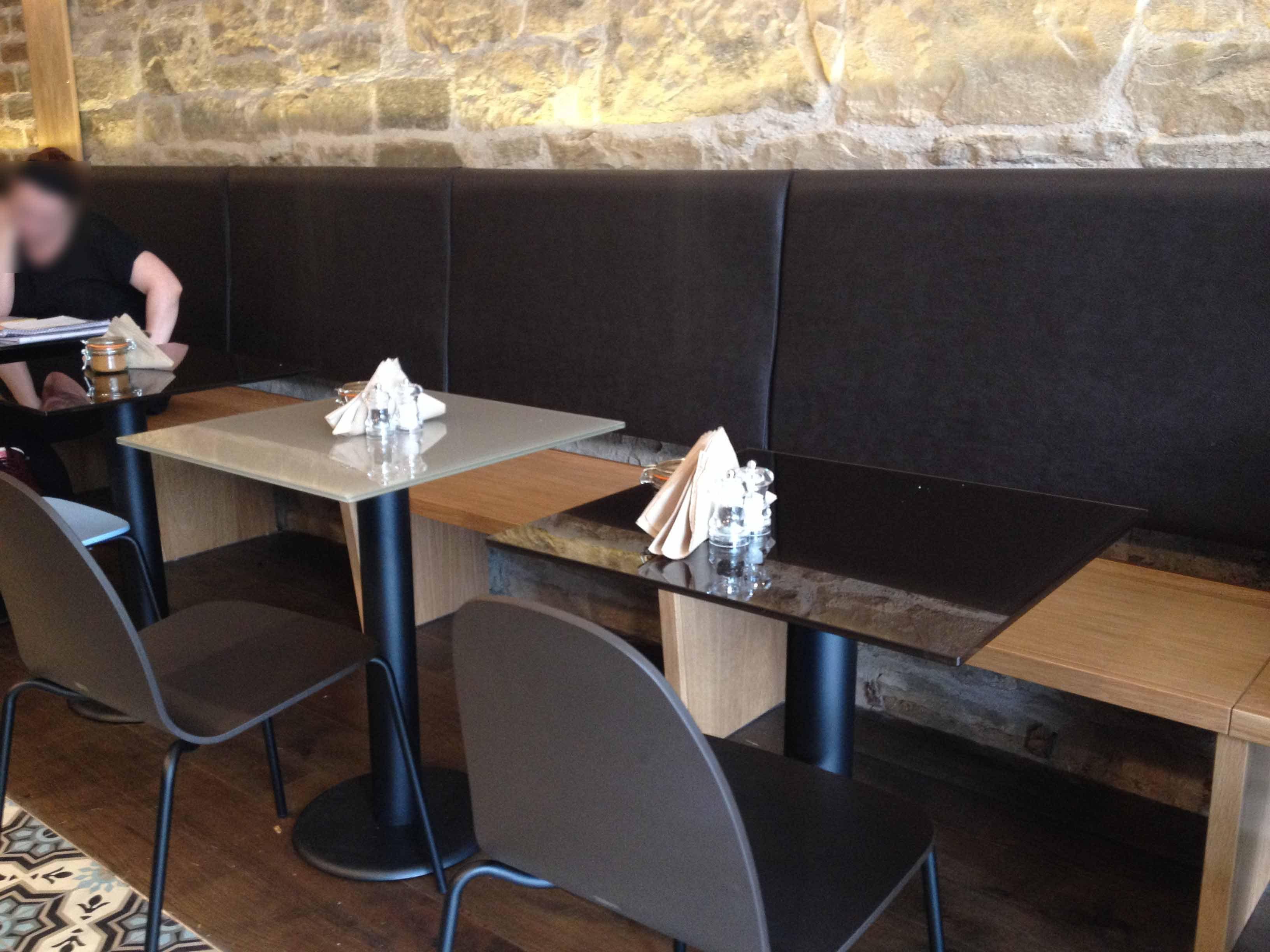 Colletti Cafe, Edinburgh Interior design and installation