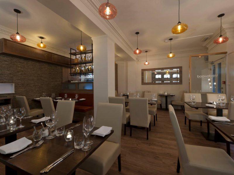 Wedgewood Restaurant Shopfitting Scotland UK