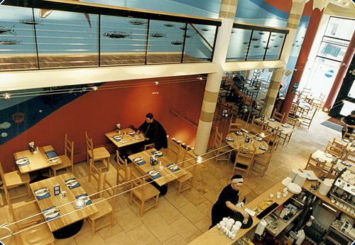 Mussel Inn hospitality shopfitting scotland
