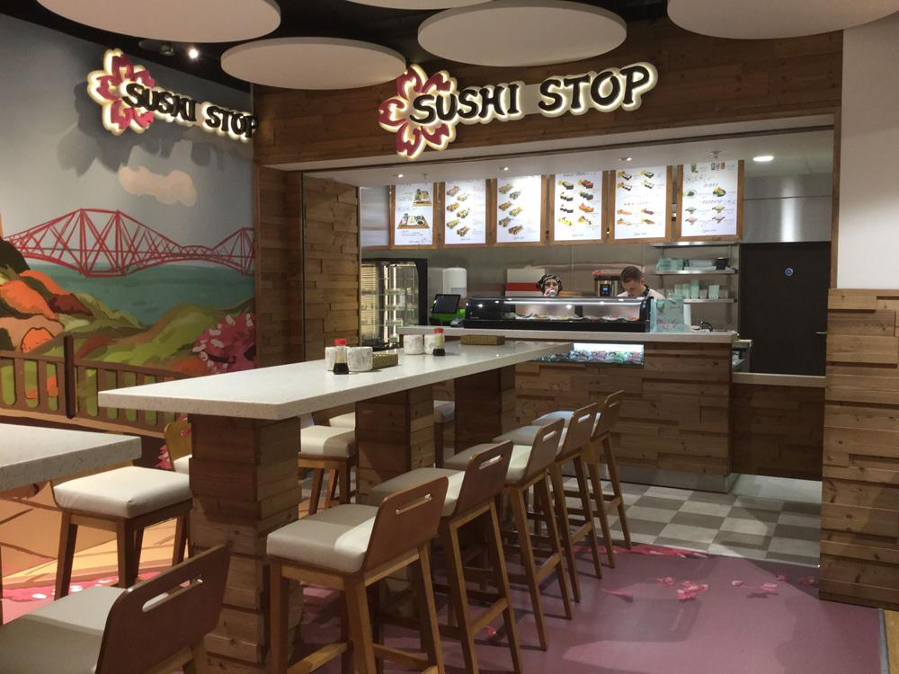 Sushi Stop Shopfitting Scotland UK
