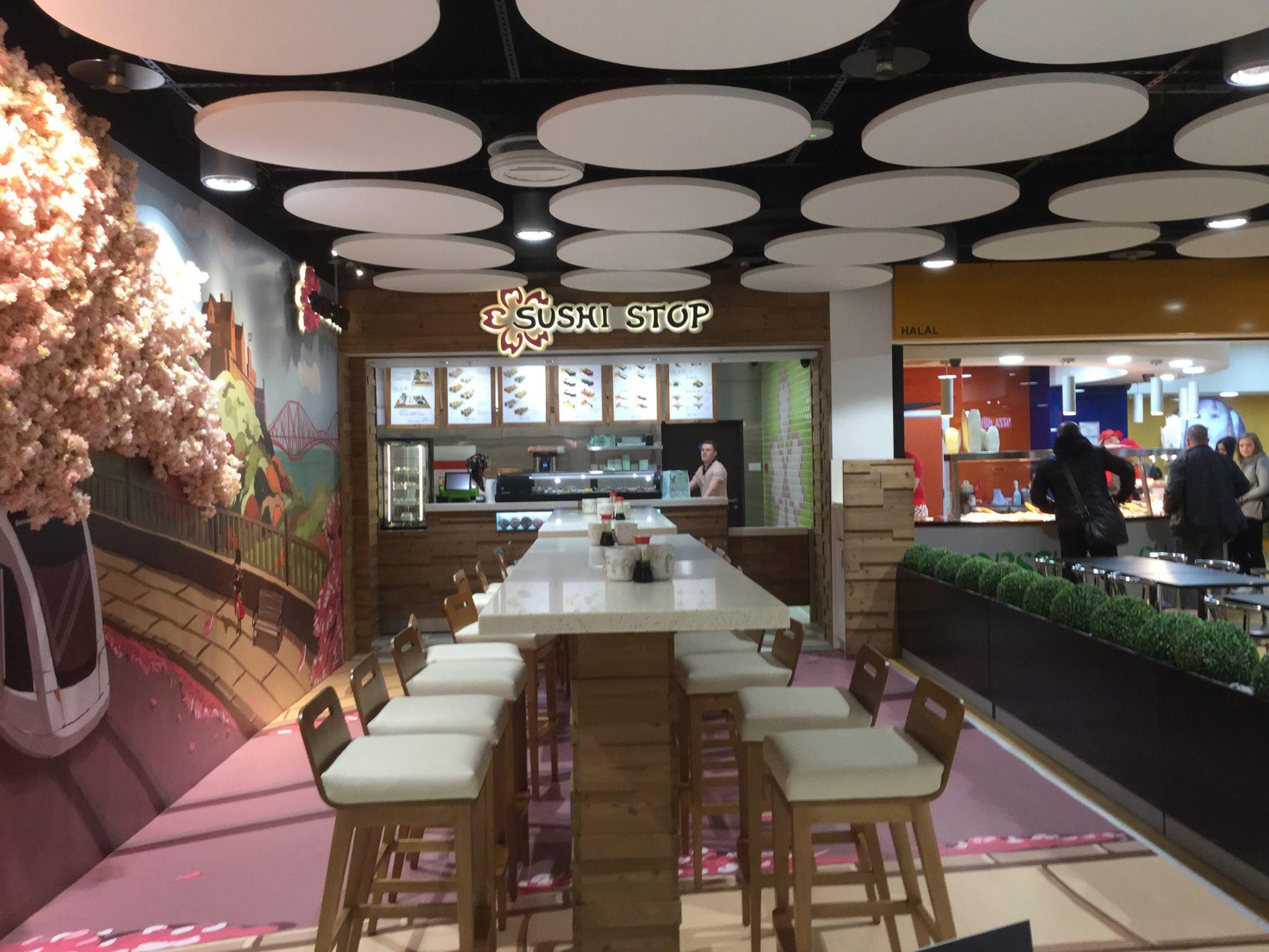 Sushi Stop restaurant Shopfitting Scotland UK